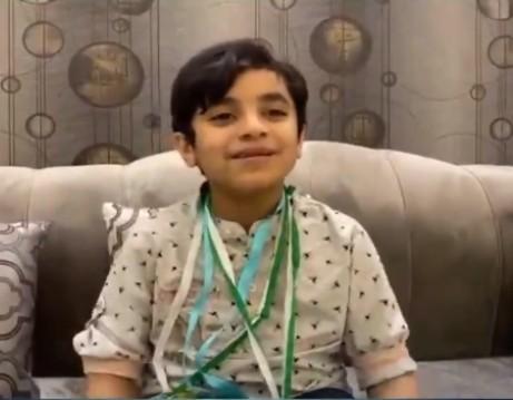 Saudi Student Youssef Haitham, 1st place,